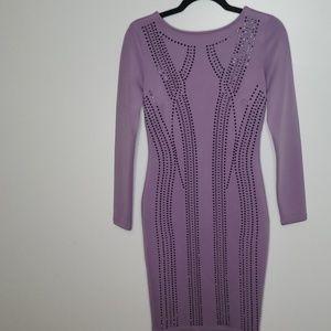 Venus Dress Lavender with metallic applique Sz 2
